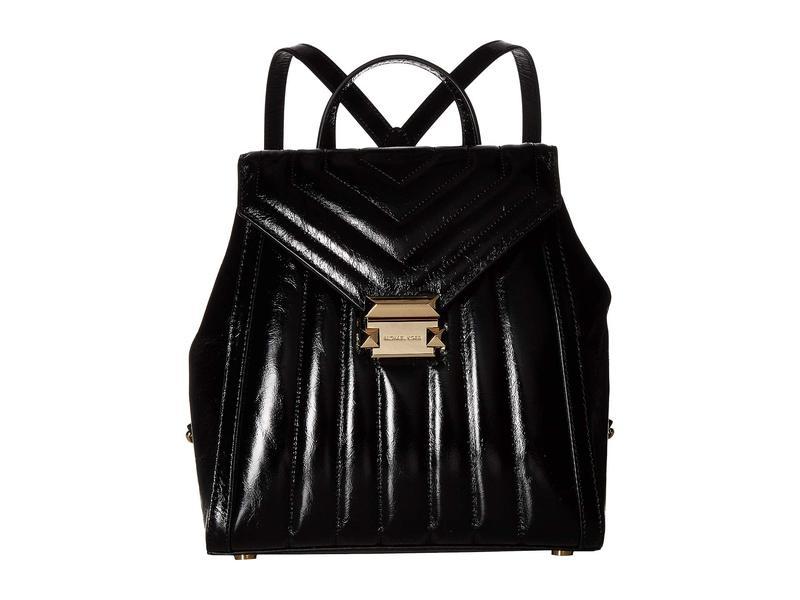 マイケルコース レディース バックパック・リュックサック バッグ Whitney Medium Backpack Black
