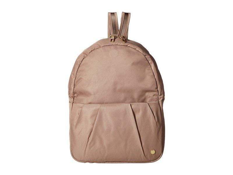 パックセーフ メンズ バックパック・リュックサック バッグ Citysafe CX Anti-Theft Convertible Backpack to Crossbody Blush Tan