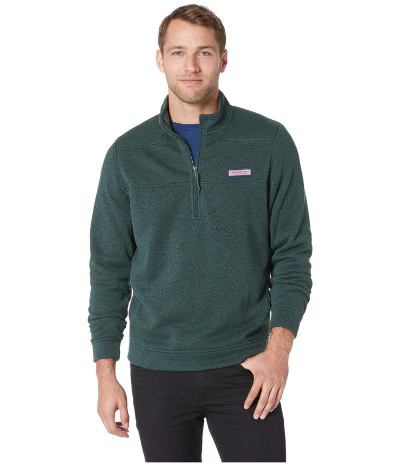 ヴァインヤードヴァインズ メンズ ニット・セーター アウター Sweater Fleece Shep Shirt Charleston Green