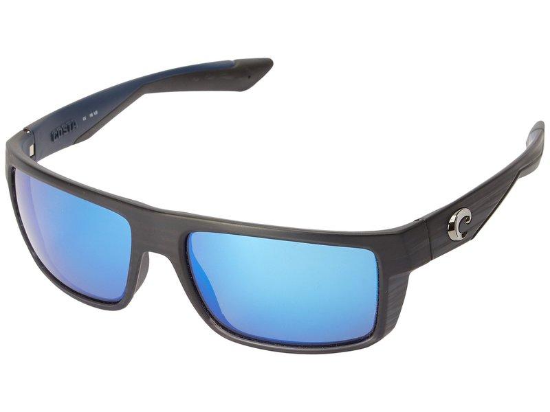 コスタ メンズ サングラス・アイウェア アクセサリー Motu Black Teak Frame/Blue Mirror Glass W580