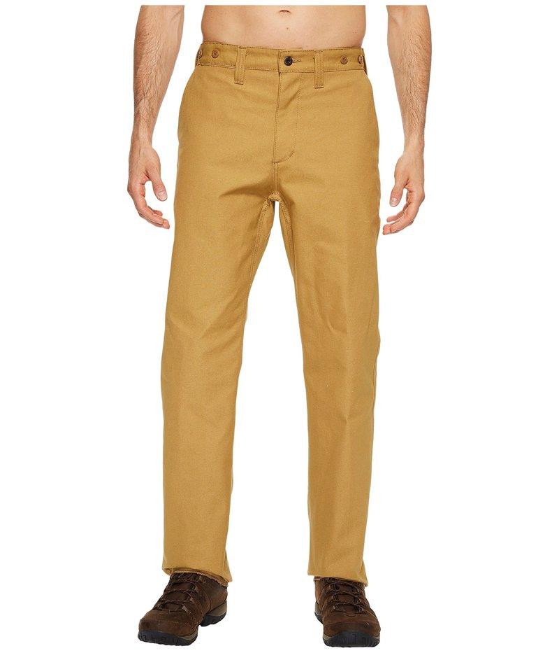 フィルソン メンズ カジュアルパンツ ボトムス Dry Tin Pants Dark Tan