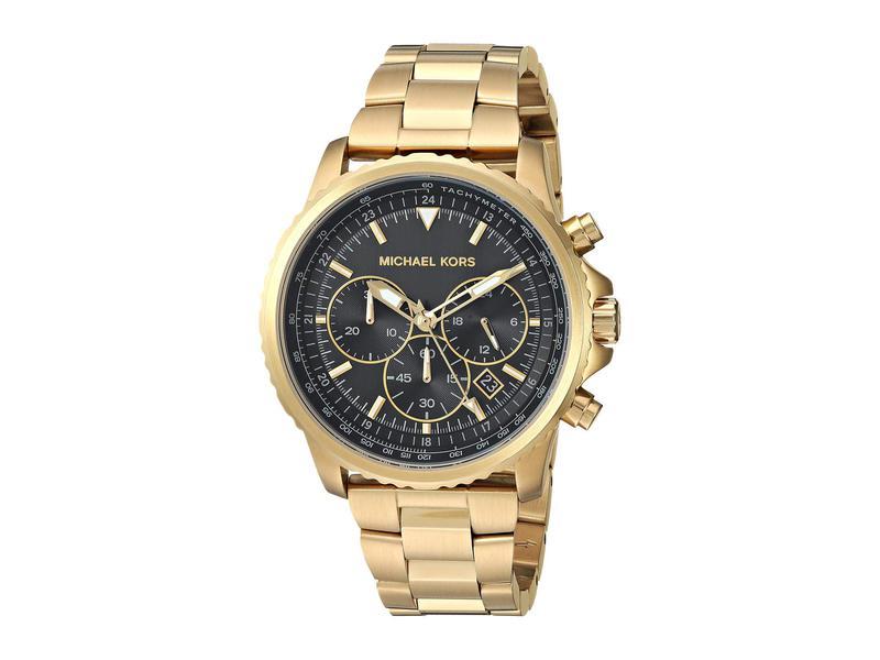 マイケルコース メンズ 腕時計 アクセサリー Theroux - MK8642 Gold