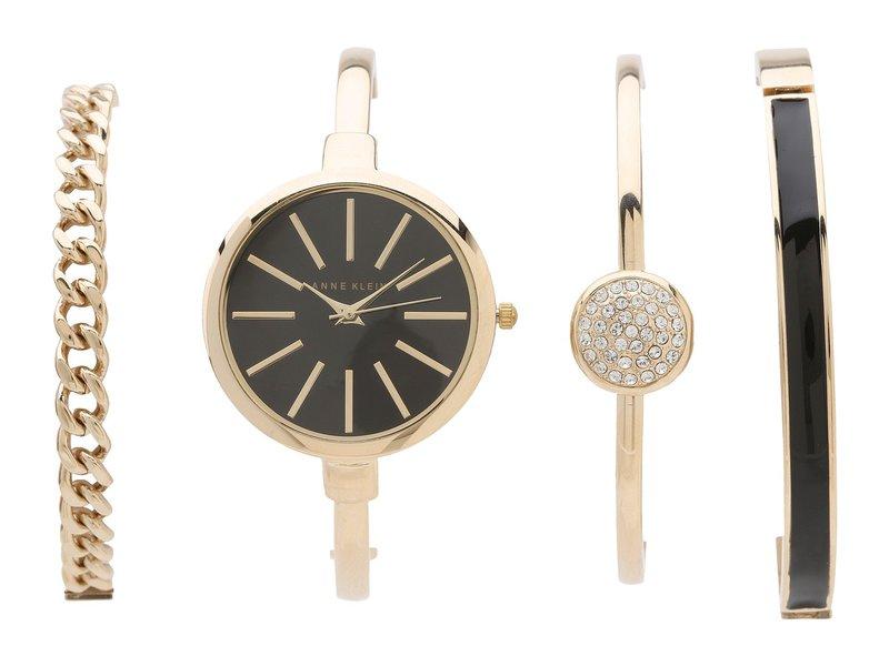 アンクライン レディース 腕時計 アクセサリー AK-1470GBST Gold/Black