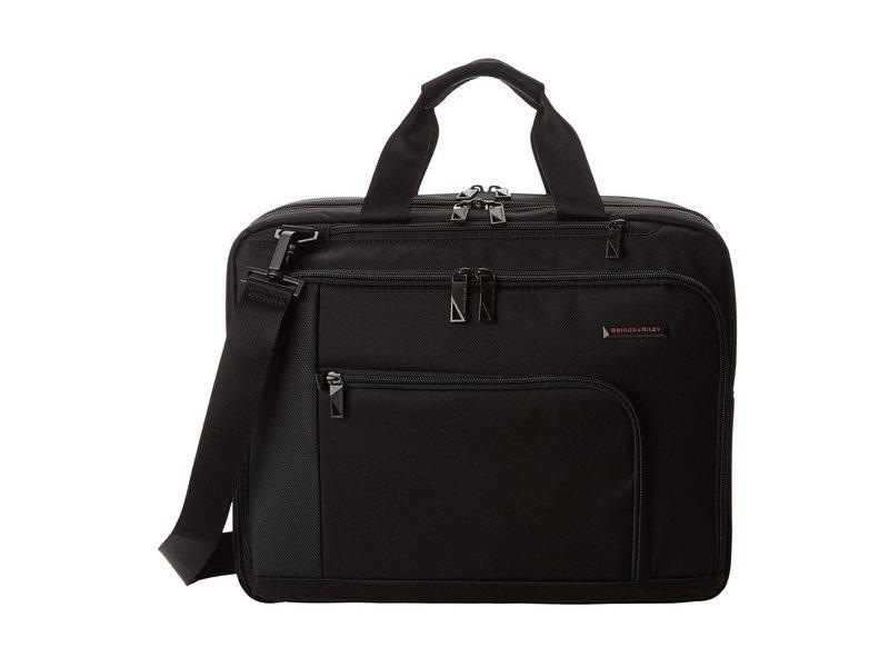 ブリグスアンドライリー メンズ ビジネス系 バッグ Verb Adapt Expandable Brief Black