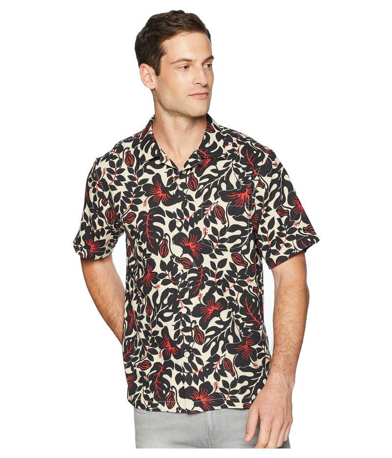 トッミーバハマ メンズ シャツ トップス Terra Fronds IslandZone Camp Shirt Black
