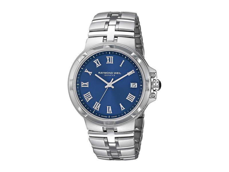 レイモンド ウィル メンズ 腕時計 アクセサリー Parsifal - 5580-ST-00508 Stainless Steel/Blue