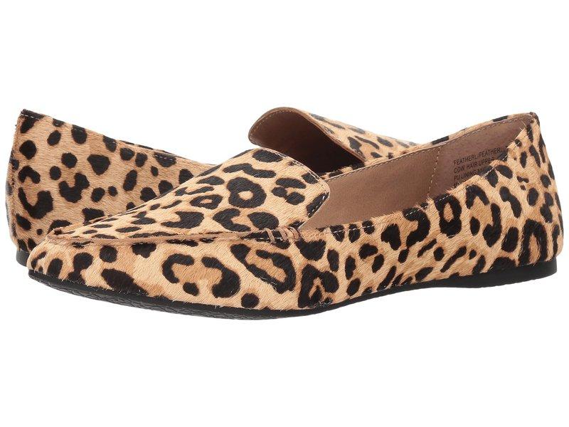 スティーブ マデン レディース スリッポン・ローファー シューズ Featherl Loafer Flat Leopard
