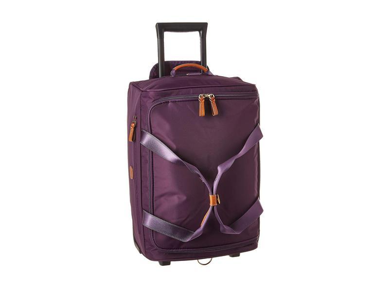 """ブリックスミラノ メンズ ボストンバッグ バッグ X-Bag 21"""" Carry-On Rolling Duffle Violet 1"""