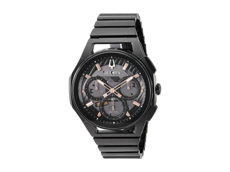 ブロバ メンズ 腕時計 アクセサリー Curv Bracelet - 98A207 Black