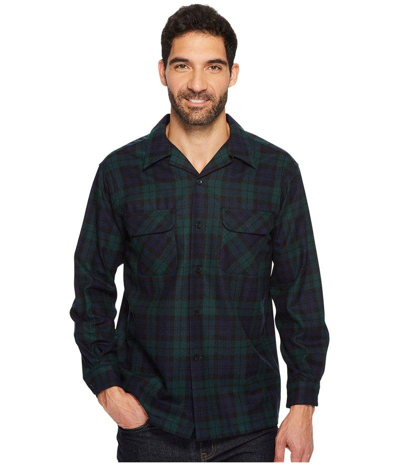 ペンドルトン メンズ シャツ トップス L/S Board Shirt Black Watch Tartan