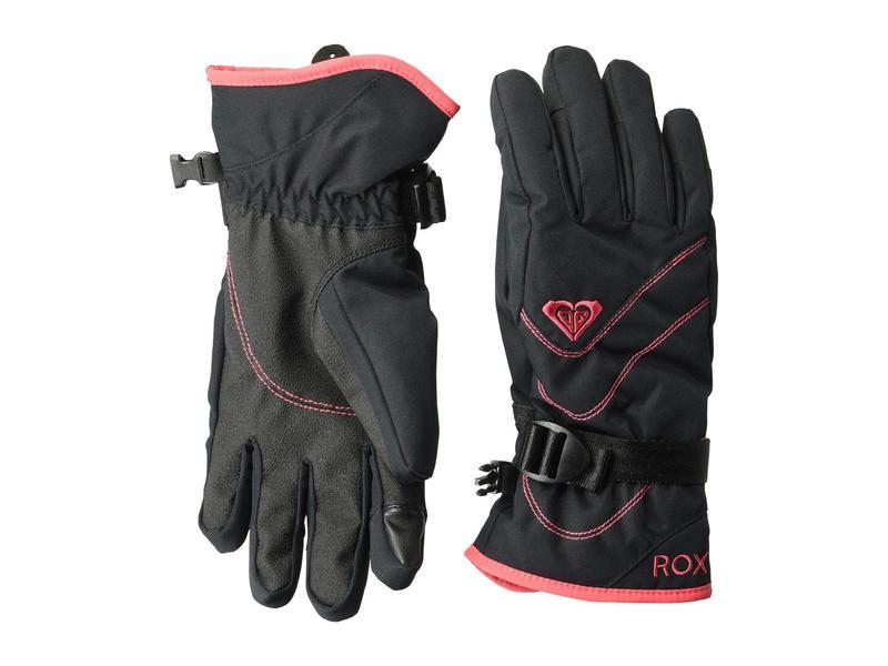 ロキシー レディース 手袋 アクセサリー Roxy Jetty Solid Gloves True Black