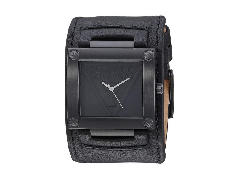ゲス メンズ 腕時計 アクセサリー U1166G2 Black