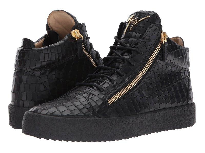 ジュゼッペザノッティ メンズ スニーカー シューズ May London Mid Top Zayn Sneaker Black