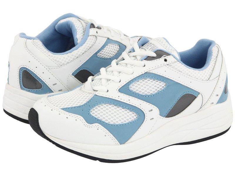 ドリュー レディース スニーカー Mesh シューズ Flare Flare White/Blue スニーカー Leather/White Mesh, おむつケーキの店ベビーアニヴェル:bd40cd76 --- sunward.msk.ru