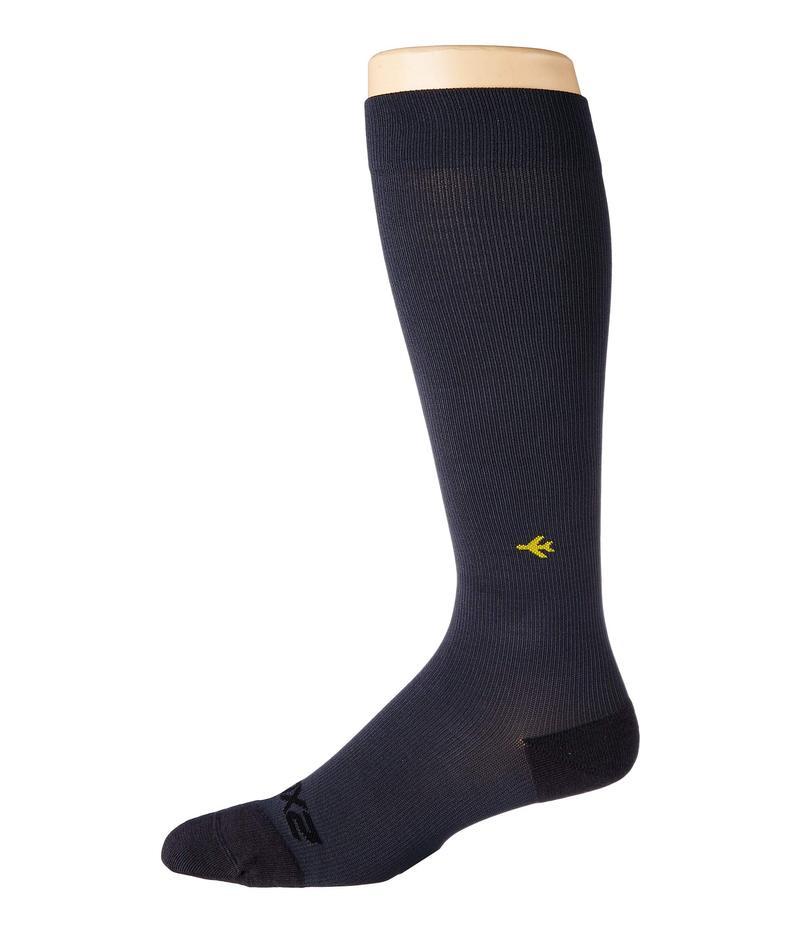 2XU メンズ 靴下 アンダーウェア Flight Compression Socks Ultra Light Titanium/Titanium