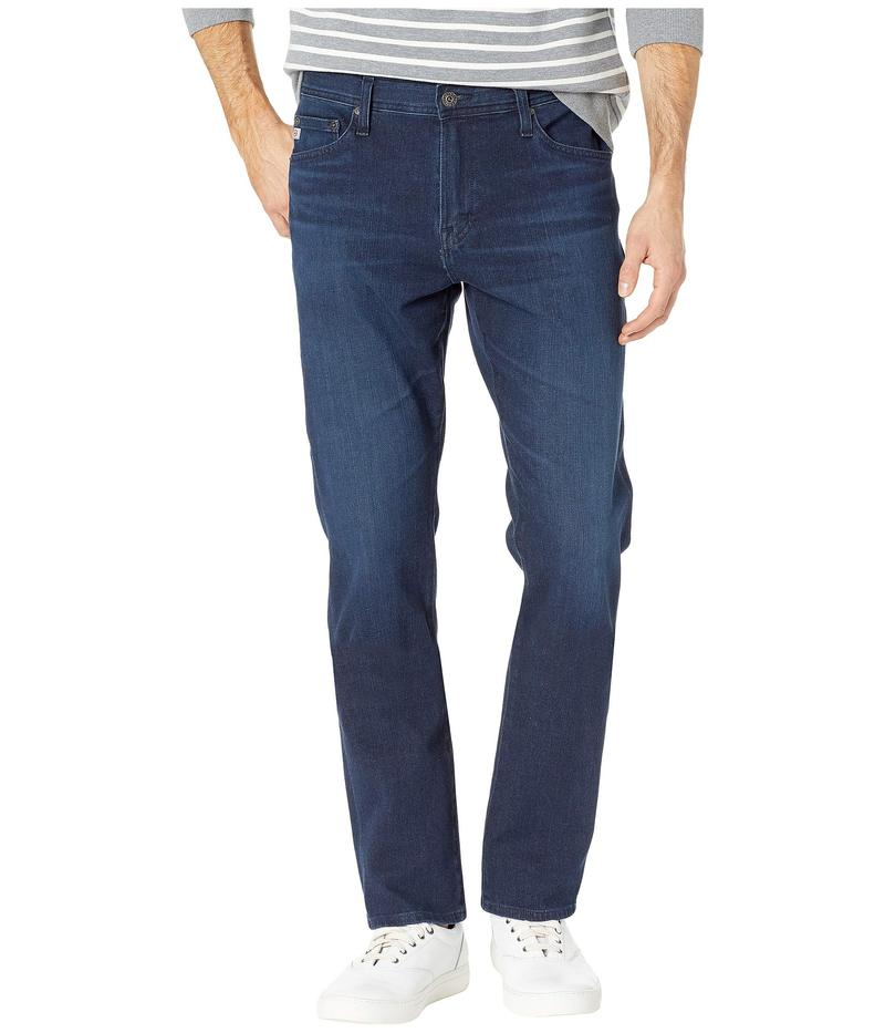 エージー アドリアーノゴールドシュミット メンズ デニムパンツ ボトムス Everett Slim Straight Leg Denim Jeans in Equation Equation