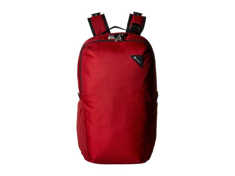 パックセーフ メンズ バックパック・リュックサック バッグ Vibe 25 Anti-Theft 25L Backpack Goji Berry