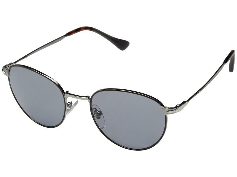 ペルソル メンズ サングラス・アイウェア アクセサリー 0PO2445S Gunmetal/Brown/Grey
