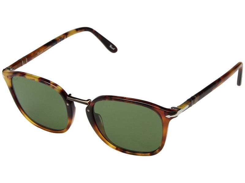 ペルソル メンズ サングラス・アイウェア アクセサリー 0PO3186S Tortoise Brown/Green