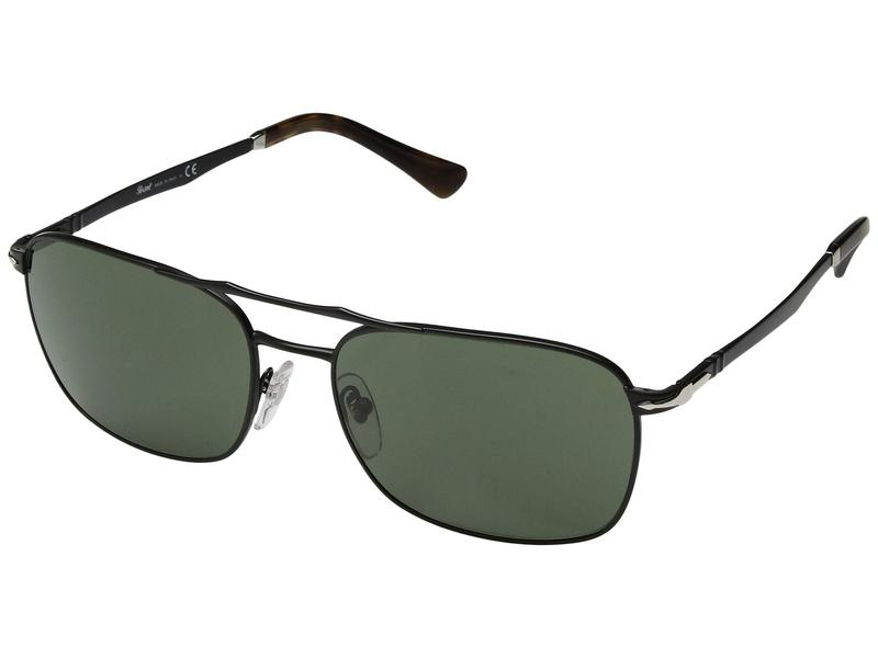 ペルソル メンズ サングラス・アイウェア アクセサリー 0PO2454S Demi Gloss Black/Green