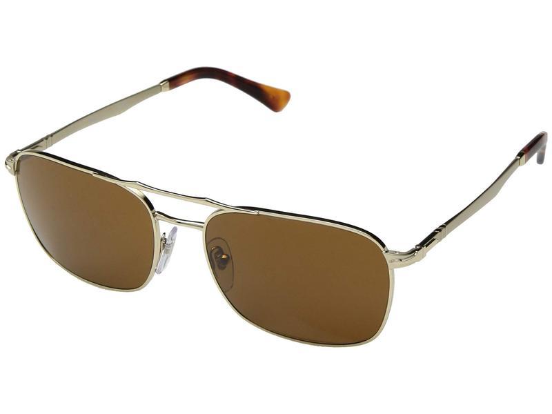 ペルソル メンズ サングラス・アイウェア アクセサリー 0PO2454S Gold/Brown