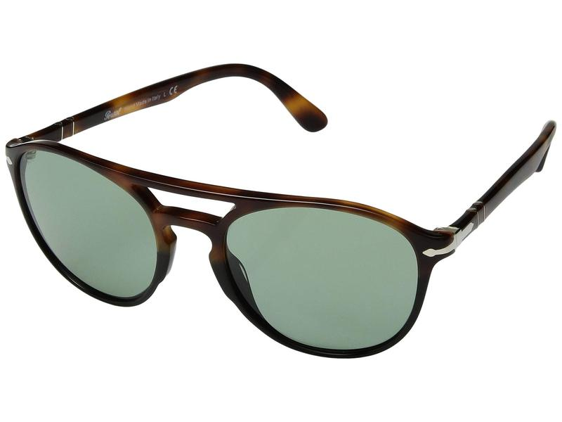 ペルソル メンズ サングラス・アイウェア アクセサリー 0PO3170S Tortoise Brown Black/Green