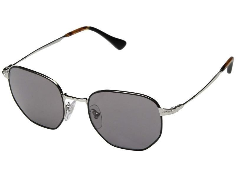 ペルソル メンズ サングラス・アイウェア アクセサリー 0PO2446S Silver/Black/Grey