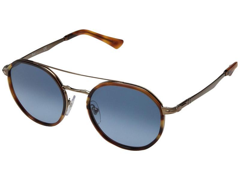 ペルソル レディース サングラス・アイウェア アクセサリー 0PO2456S Brown/Azure Gradient Blue