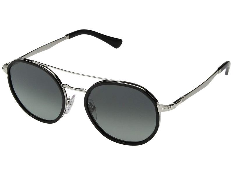 ペルソル レディース サングラス・アイウェア アクセサリー 0PO2456S Silver/Grey Gradient Dark Grey