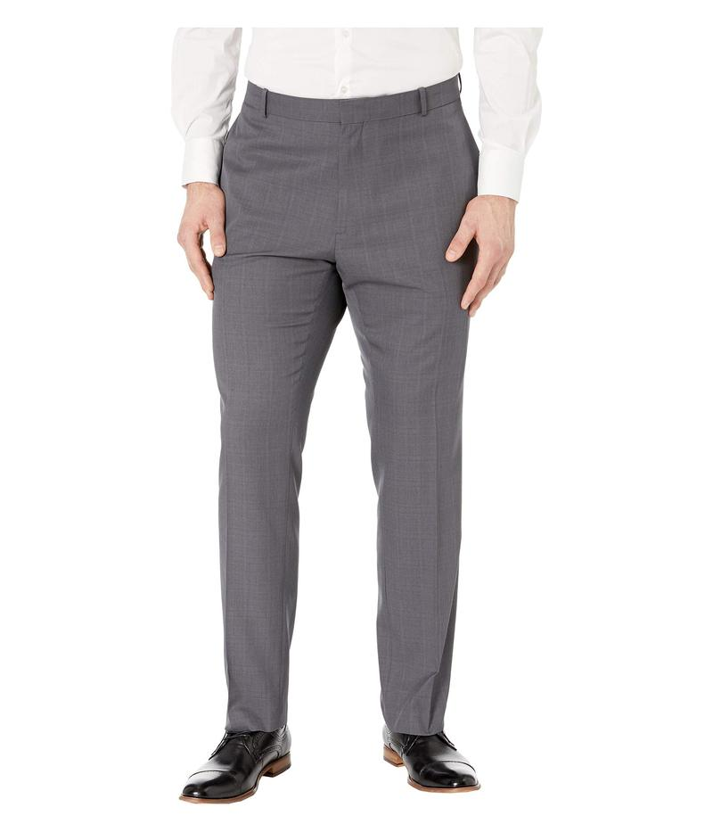 ペリーエリス メンズ カジュアルパンツ ボトムス Big & Tall Modern Fit Performance Pants Charcoal
