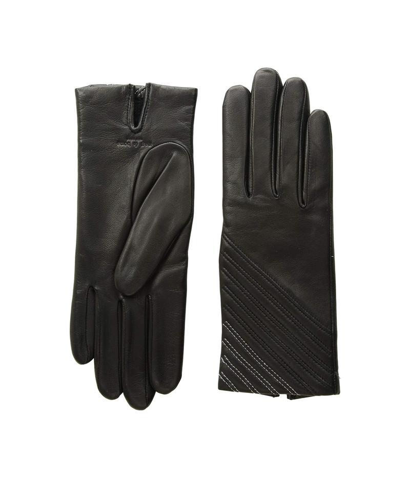 ラグアンドボーン レディース 手袋 アクセサリー Slant Gloves Black 1