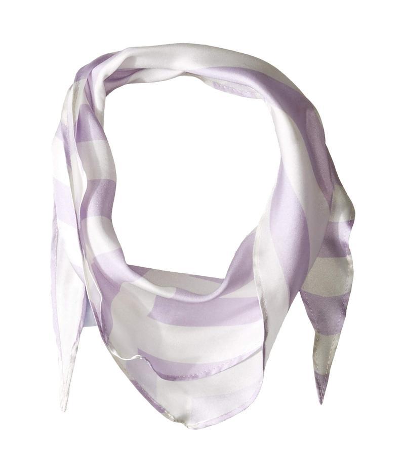 レベッカミンコフ レディース マフラー・ストール・スカーフ アクセサリー Gerber Stripe Diamond Lavender