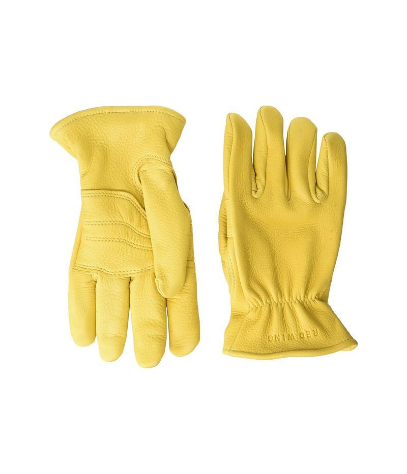 レッドウイング メンズ 手袋 アクセサリー Lined Gloves Yellow Deerskin