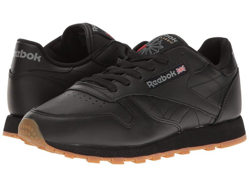 リーボック レディース スニーカー シューズ Classic Leather Black/Gum