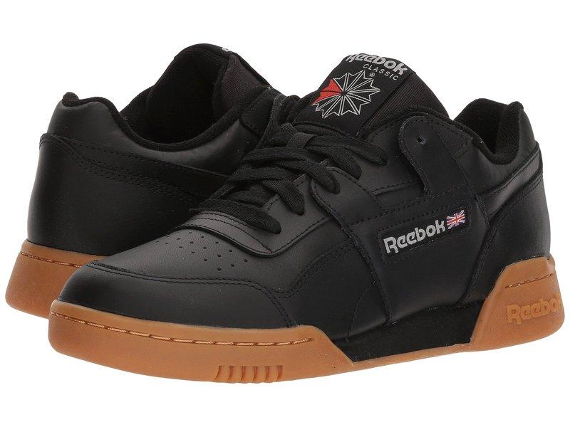 リーボック メンズ スニーカー シューズ Workout Plus Black/Carbon/Classic Red/Reebok Royal/Gum