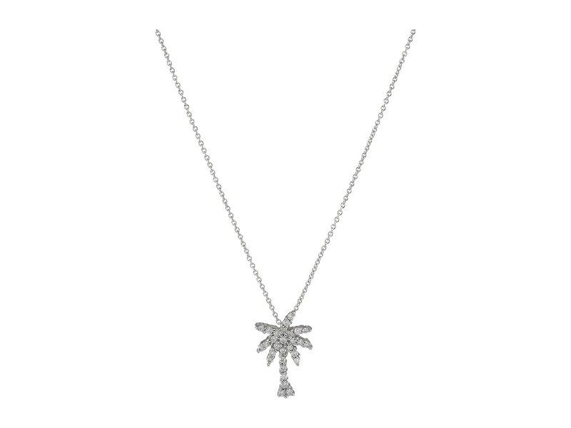 ロバートコイン レディース レディース ネックレス アクセサリー・チョーカー・ペンダントトップ Necklace アクセサリー Tiny Treasures Palm Tree Necklace with Diamonds White, ほんだ農場:cfcbd35e --- previousquestionpapers.com