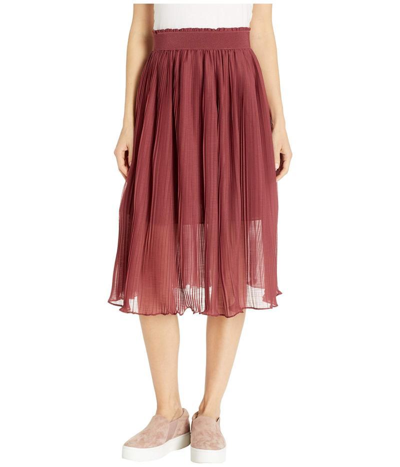 ロキシー レディース スカート ボトムス Lost Green Canyon Skirt Oxblood Red