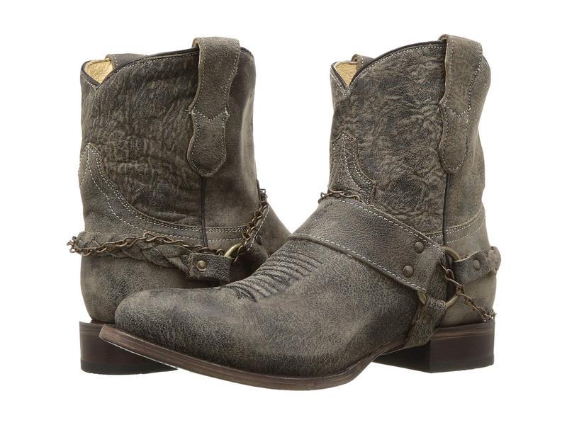 ローパー レディース ブーツ・レインブーツ シューズ Selah Vintage Leather/Harness & Chain