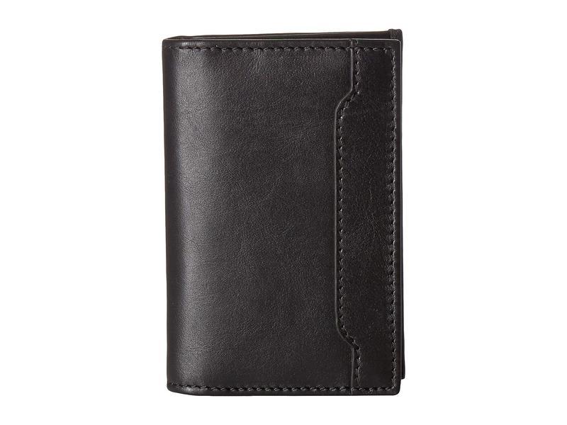ロバート タルボット メンズ 財布 アクセサリー Gusseted Card Case Black Leather