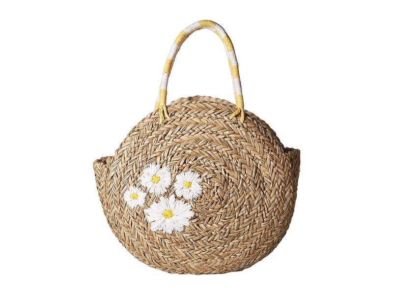 サンディエゴハット レディース ハンドバッグ バッグ BSB1735 - Circular Daisy Tote Natural