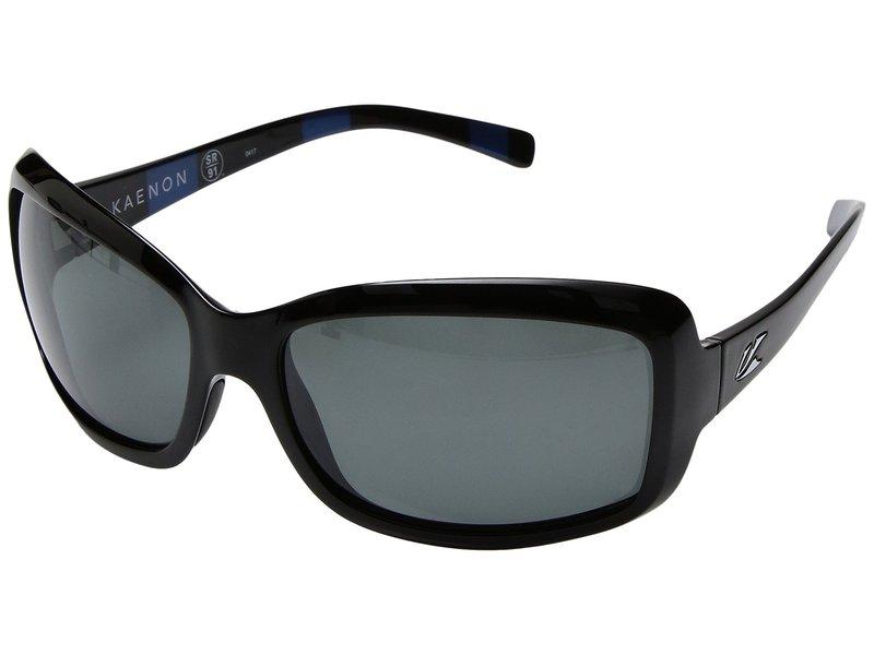 カエノン レディース サングラス・アイウェア アクセサリー Lunada Modern Black/Grey 12 Polarized
