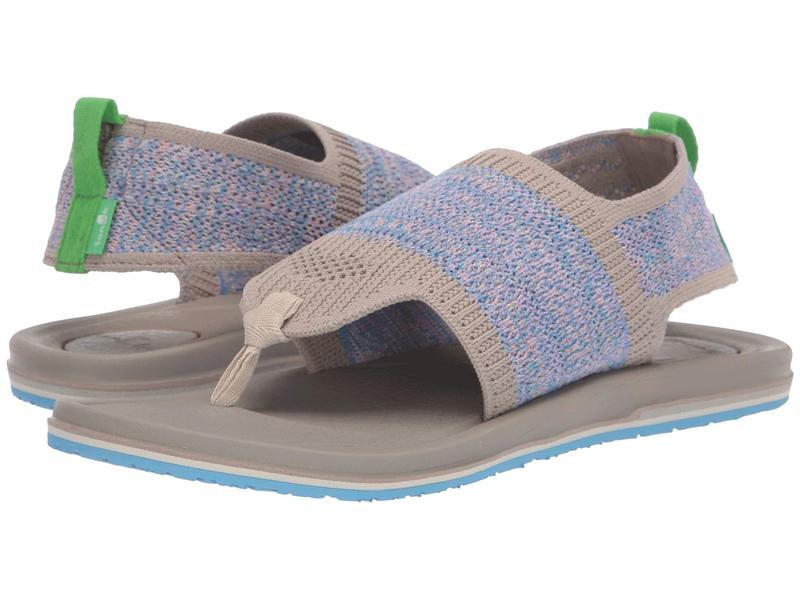 サヌーク レディース サンダル シューズ Yoga Sling 3 Knit Cobblestone Multi