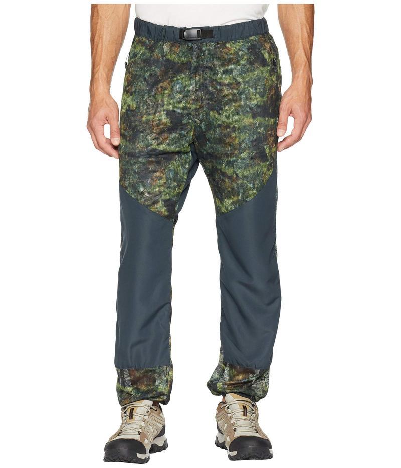 スノーピーク メンズ カジュアルパンツ ボトムス Insect Shield Camo Pants Green