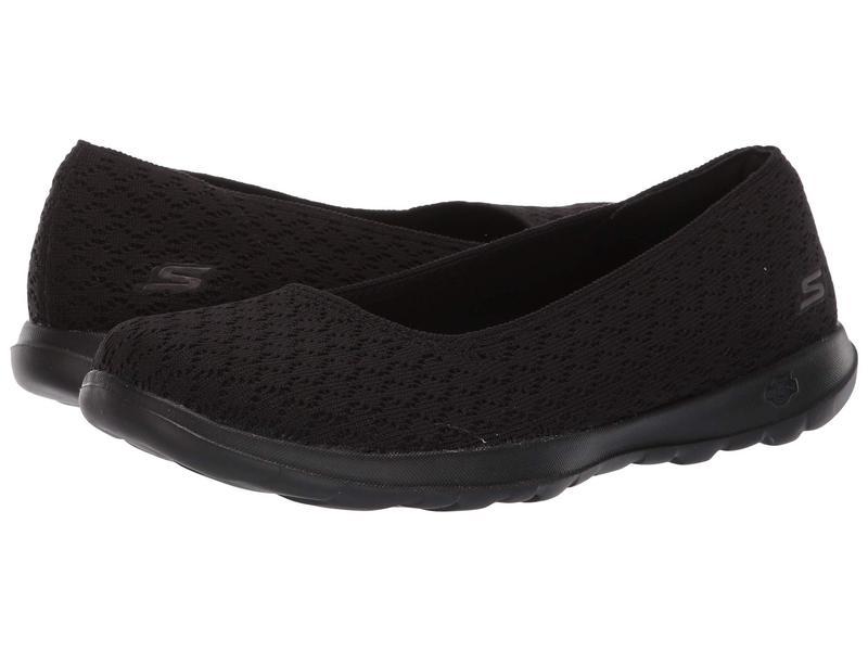 スケッチャーズ レディース サンダル シューズ Go Walk Lite - 15386 Black