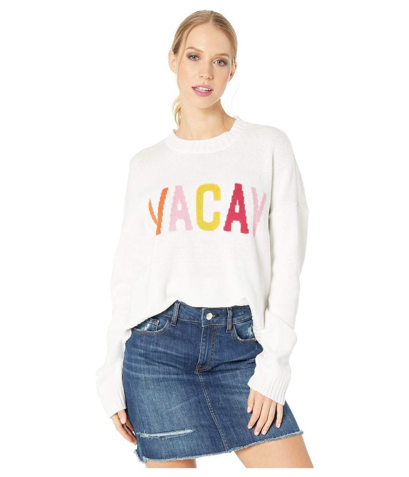 ウミーユアムーム レディース ニット・セーター アウター Cropped Varsity Sweater Vacay Graphic