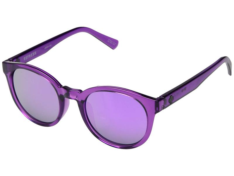 スパイオプティック メンズ サングラス・アイウェア アクセサリー Hi-Fi Amethyst/Gray/Purple Mirror