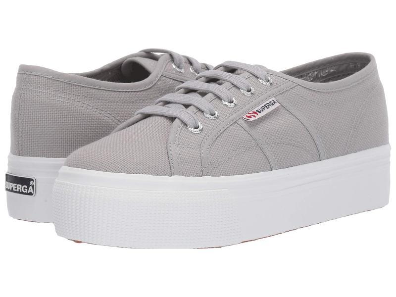 スペルガ レディース スニーカー シューズ 2790 Acotw Platform Sneaker Light Grey