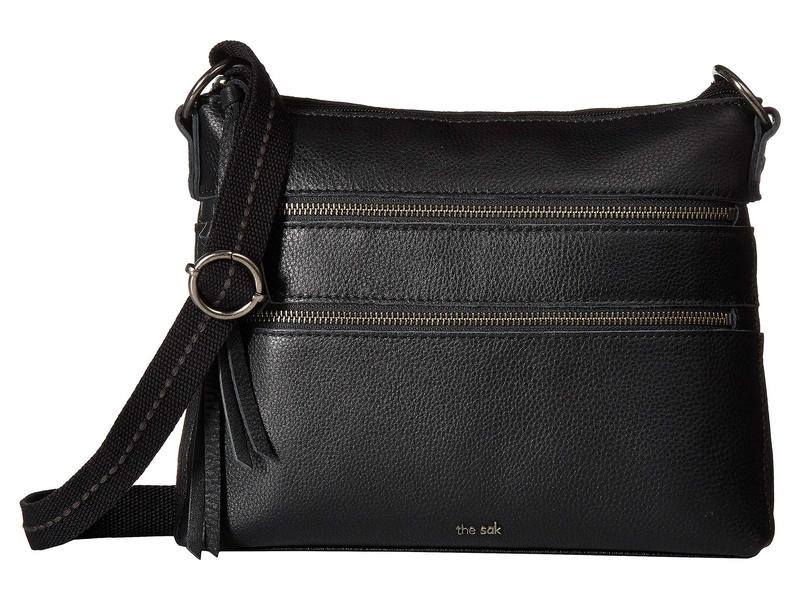 ザサック レディース ハンドバッグ バッグ Reseda Leather Crossbody Black