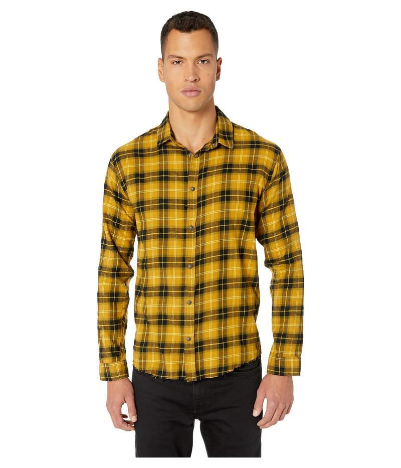 ザ・クープルス メンズ シャツ トップス Checked Shirt Yellow/Black