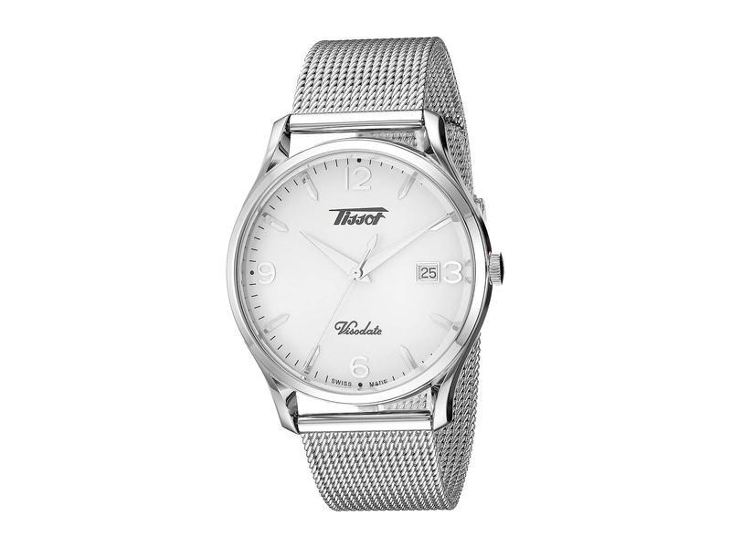 bb21641ba326 アクセサリー Heritage ドクターマーチン Visodate - T1184101127700 Silver ティソット メンズ 腕時計  送料無料 超人気